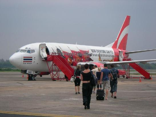 Air Asia, Surat thani Airport