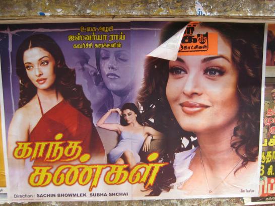 The famous Indian actress Aishwarya Rai
