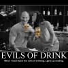 ホリディなのにお酒が飲めないとちょっとキツイよね。